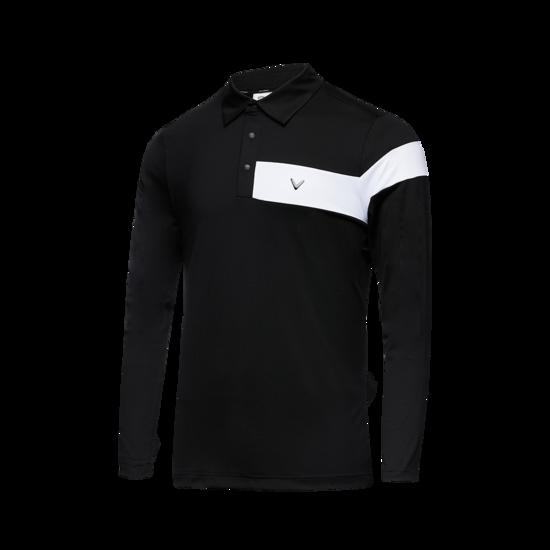 컬러 블럭 남성 Y넥 티셔츠