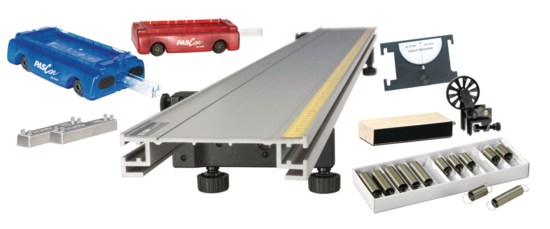 Standard PAScar Metal Track 1.2 m System <span class=