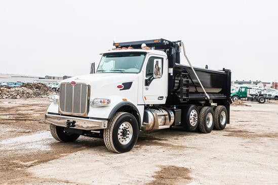 2020 Peterbilt 567 8x4 Load King LK16EDB Dump Truck