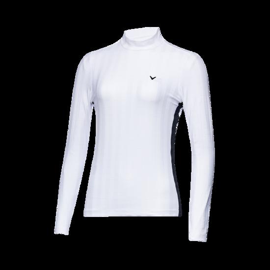어드저스터블 사이드 여성 긴팔 티셔츠
