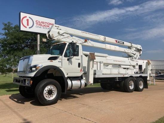 2014 International 7500 6x6 Terex TCX65/100 Bucket Truck
