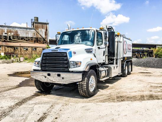 2019 Freightliner 114SD 6x4 Aquatech B10-1450-18 Hydrovac Truck