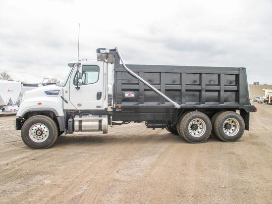 2020 Freightliner 114SD 6x4 OX BODIES 16' Maverick Dump Truck