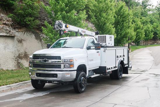 Load King Voyager 1r (LK7522) ServiceTruck+Crane on 2019 Chevrolet 6500 4x4