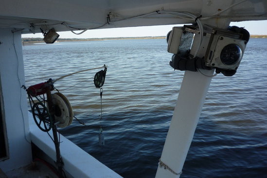 electronic monitoring on fishing boat