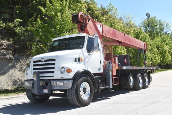 2002 Sterling LT7500 8x4 Manitex 30100 Boom Truck