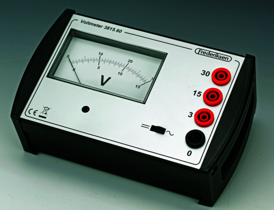 Heavy-Duty Voltmeter