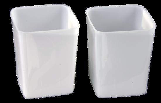 3-Liter Plastic Tub (2-Pack)