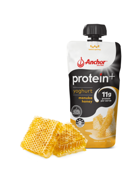 Anchor Protein+ Manuka Honey Yoghurt Pouch 150g