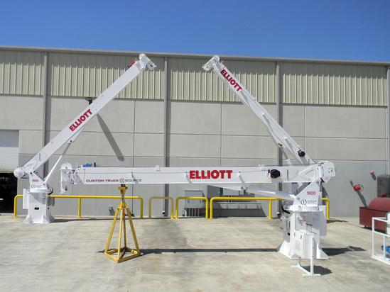 2017 Elliott 1860DM Marine Terminal Crane