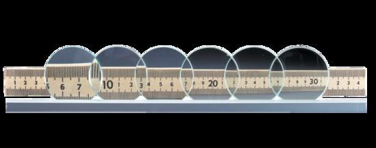Ground Glass Lenses
