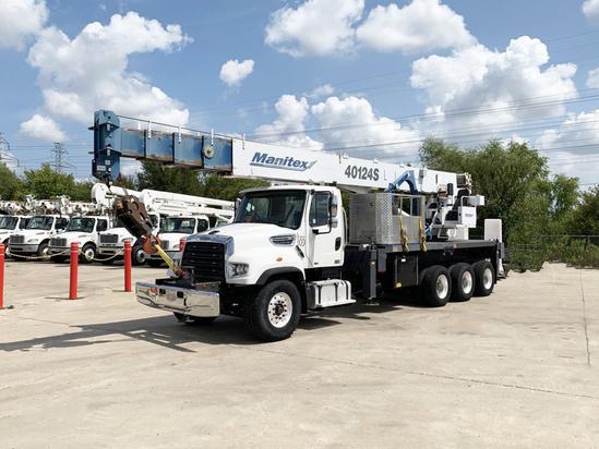 2015 Freightliner 114SD Manitex 40124 Boom Truck