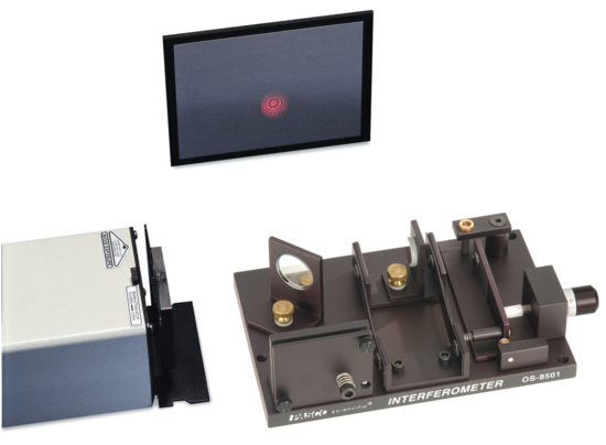 Introductory Michelson Interferometer