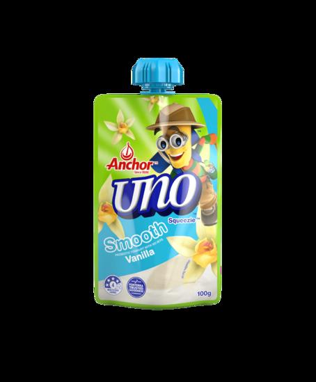 Anchor Uno Vanilla Yoghurt Pouch 100g