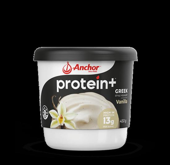 Anchor Protein+ Vanilla Yoghurt 450g tub