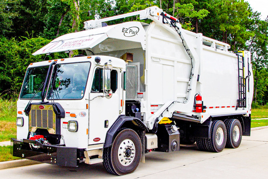 2019 Peterbilt 520 6x4 E-Z Pack Hercules Refuse/Recycling Truck