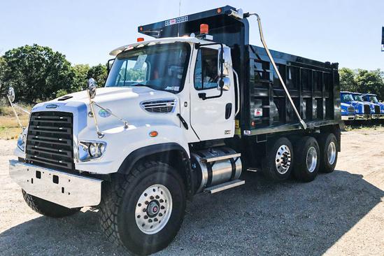 2020 Freightliner 114SD 8x4 OX BODIES 16' Maverick Dump Truck