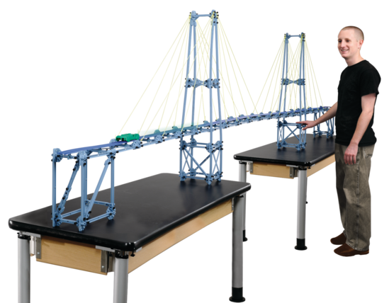 Large Structures Set - Cable Stayed Bridge