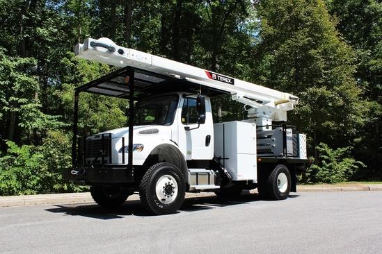 Terex XTPRO60/70-ORA-F-PC Forestry Bucket Truck on 2019 Freightliner M2106 4x4