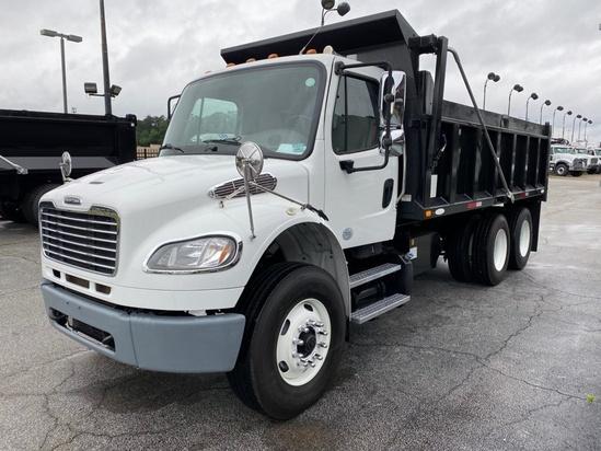 2014 Freightliner M2106 6x4 Ledwell LW 14/16 BD Dump Truck