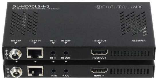 HDMI 2.0 HDBaseT 18G 4K HDR 70m extender set with IR