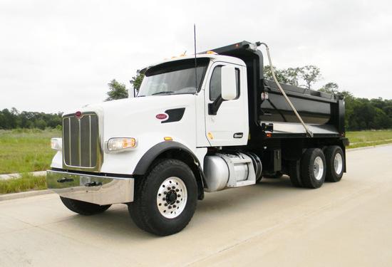 2018 Peterbilt 567 6x4 Ox Stampede Dump Truck