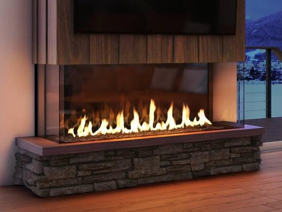 Fireplaces Heat Glo, Open Gas Fireplace Indoor