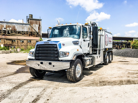 2019 Freightliner 114SD 6x4 Aquatech B10-1450	-18 Sewer Cleaner Truck