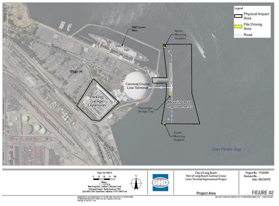 Project area photo and map