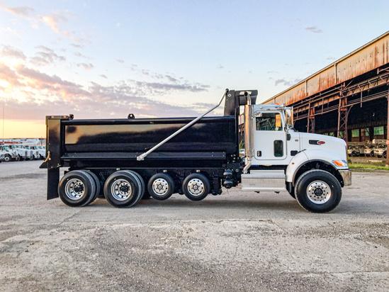2020 Peterbilt 348 10x4 Load King LK18EDB Dump Truck