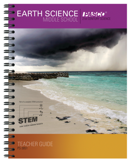 Middle School Earth Science Teacher Guide • PS-3851
