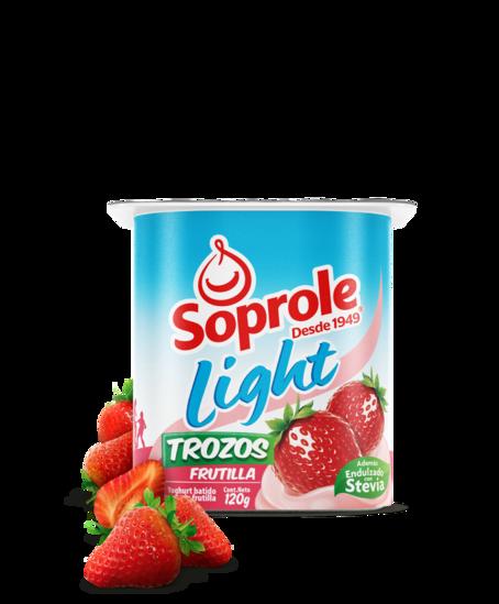 Soprole Yoghurt Light Trozos Frutilla