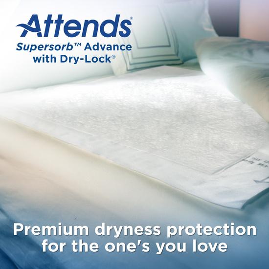Attends Supersorb Advanced Premium Underpads