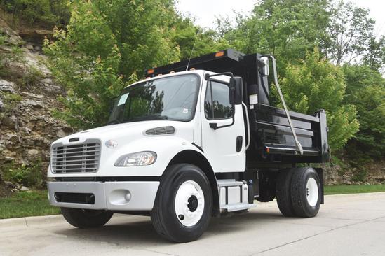 2019 Freightliner M2106 4x2 Load King Square Dump Dump Truck
