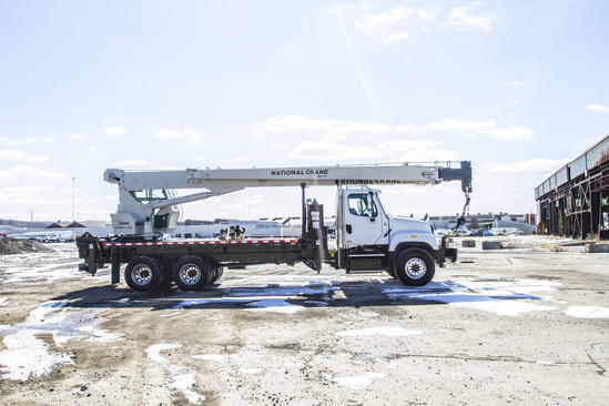 2018 Freightliner 114SD 8x4 National NC13110A Boom Truck
