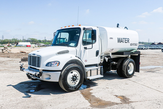 2020 Freightliner M2106 4x2 Load King 2000 Gal Kit Water Truck