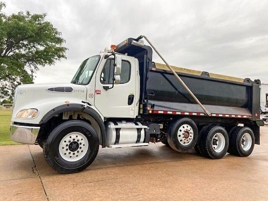 2013 Freightliner M2112 8x4 Ox Bodies Dump Truck