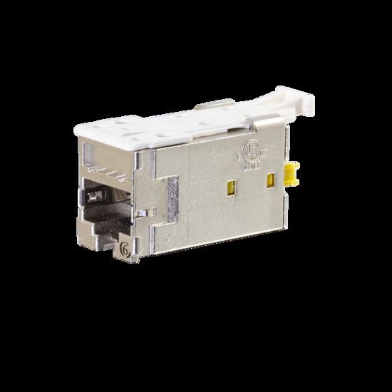 Clarity Shielded High Density Jack (HDJS) CAT6, T568A/B