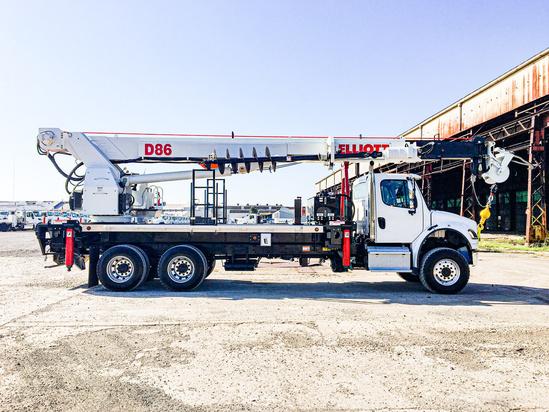 Elliott D86 Digger Derrick on 2019 Freightliner M2106 6x6