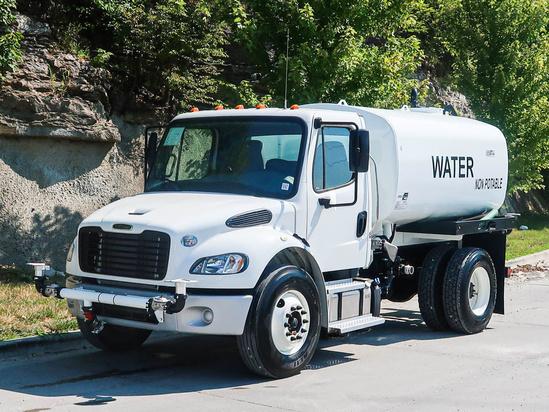 2020 Freightliner M2106 4x2 Load King 2000 Gal Kit Water Truck