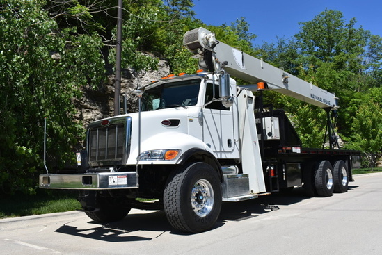 2013 Peterbilt 348 6x4 National NC8100D Boom Truck