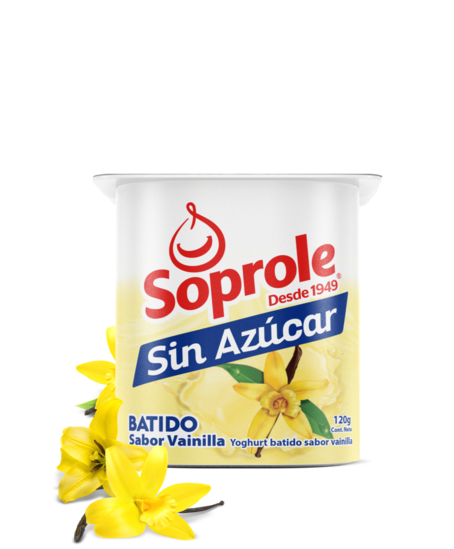 Soprole Yoghurt Sin Azúcar Batido Light sabor vainilla