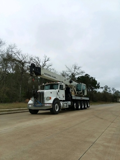 2014 Peterbilt 367 12x6 National NBT45142 Boom Truck