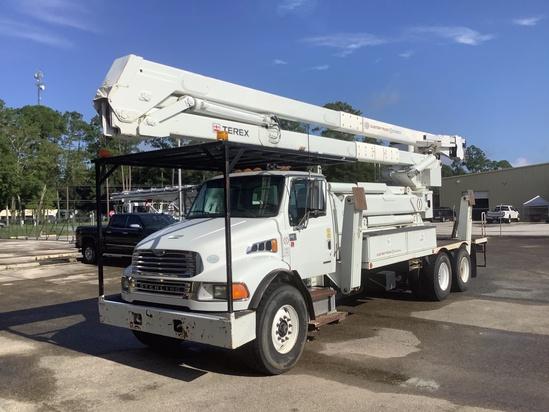 2009 Sterling LT8500 6x4 Terex RMX75/100 Bucket Truck