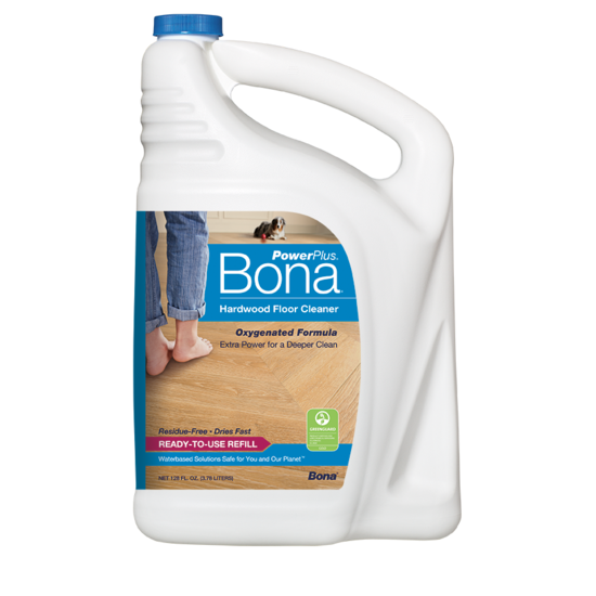 Product Image of Bona PowerPlus® Hardwood Floor Deep Cleaner Refill (3.78L/128 oz) (4.73L/160 oz)