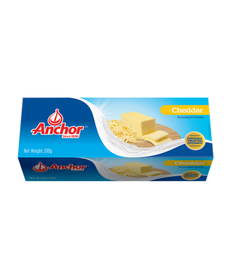 Anchor Cheddar Block 200g