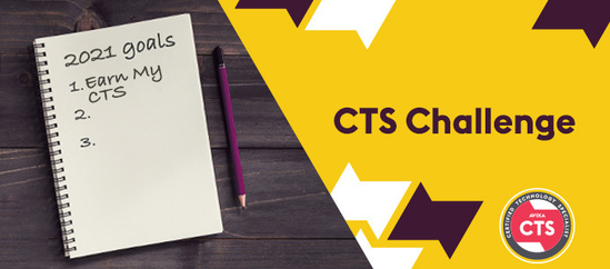 Sign up for the CTS Challenge | AVIXA