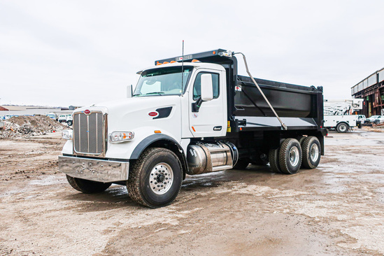 2020 Peterbilt 567 6x4 OX BODIES 16' Stampede Dump Truck