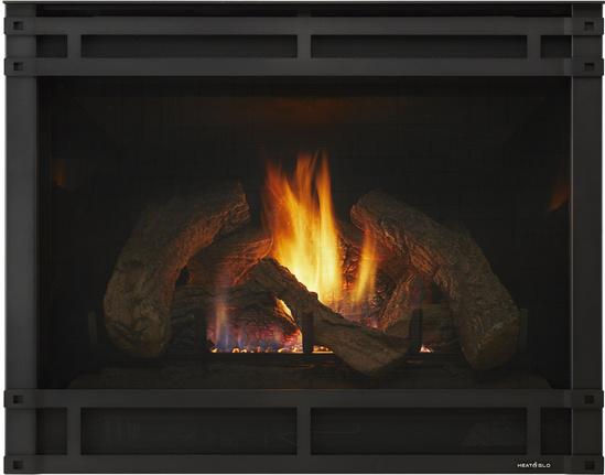 8000 Series Indoor Gas Fireplace | Heat & Glo