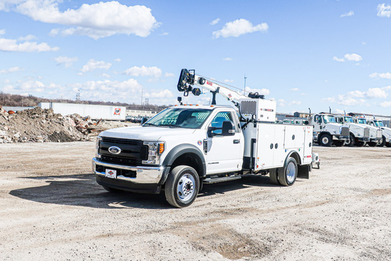 IMT DOM1SIII + 7500 ServiceTruck+Crane on 2021 Ford F550 4x4